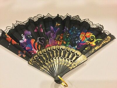 Chinese display fan flower design us seller