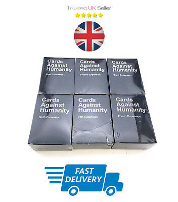 Cards Against Humanity Playing Cards Game Second Expansion NEW UK FAST DELIVERY