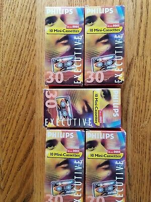 Phillips 50 mini cassette executive 30 min