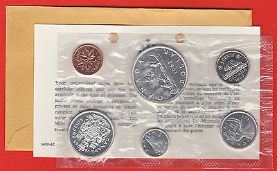 1963 Original Silver Canada RCM Proof Like Mint Silver Set PL COA + Envelope