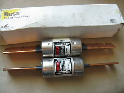 Cooper Bussmann FRS-R-125 FUSETRON NEW ( lot of 2 )