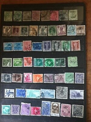 stamps  India - Used  - Lot 123