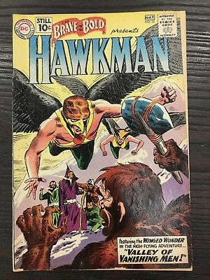 Brave And The Bold #35 Gd- Dc Comics Silver Age Hawkman!