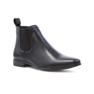 Beckett Mens Black Chelsea Boot - Sizes 6,7,8,9,10,11,12