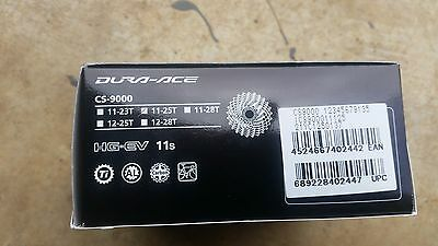 SALE!! NEW GENUINE SHIMANO DURA ACE CS 9000 11 SPEED 11-25 CASSETTE di2 ultegra
