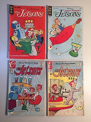 The Jetsons Lot of (4) Charlton & Gold Key Bronze Comic Books