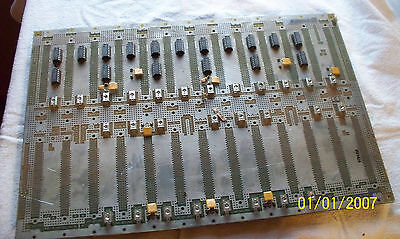 HP E1401 VXI 13-slot Back Plane Board, HP P/N E1401-66501