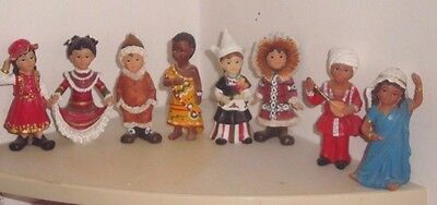 Set Of Dolls - 9 In Total