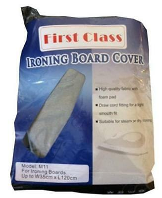 Ironing Board Cover New, Metallic, Scorch Guard, Fits 35cm x 120cm Boards