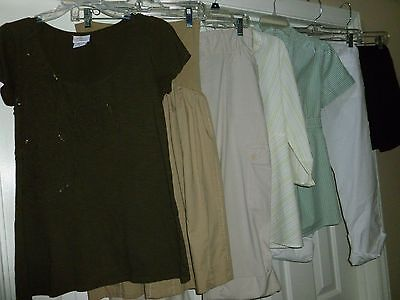 Maternity Clothes Lot - Size S Motherhood Items & One Duo Maternity Size M