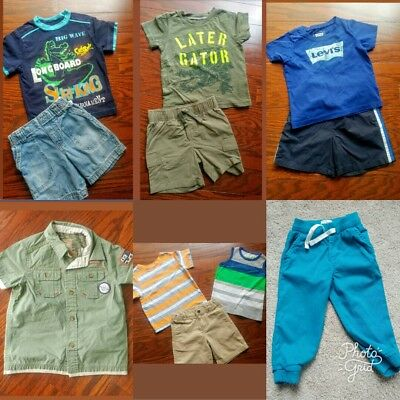 Boys 24 Months/2T Clothing Lot...Nautica, LEVI's, Old Navy, Carters...