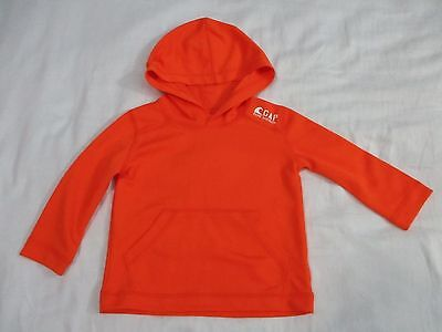 NWOT BABY GAP 12-18 Month Orange Surf Division Hooded Long Sleeve Athletic Shirt