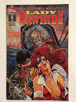 LADY RAWHIDE #5 (Jun 1997, Topps) 'Other People's Blood-Bring Your Own Corpses'