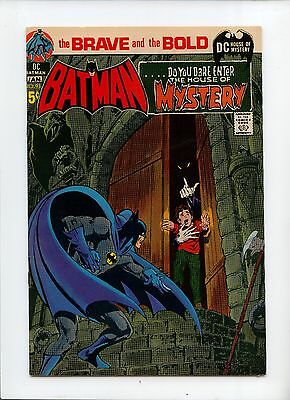 The Brave and the Bold #93 VF 8.0 Neal Adams cover & art House of Mystery Batman