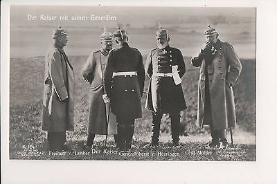Vintage Postcard Kaiser Wilhelm II, German Emperor King of Prussia Military WWI
