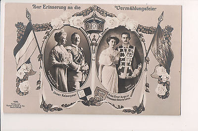 Vintage Postcard Kaiser Wilhelm II, German Emperor The Empress  & Royal Family