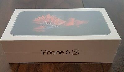 Black Apple iPhone 6S 32GB Bell Brand New In Box