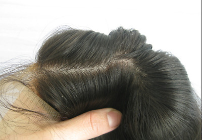 """Customized Super Fine Swiss Hair System - Size 8""""x10"""" or less"""