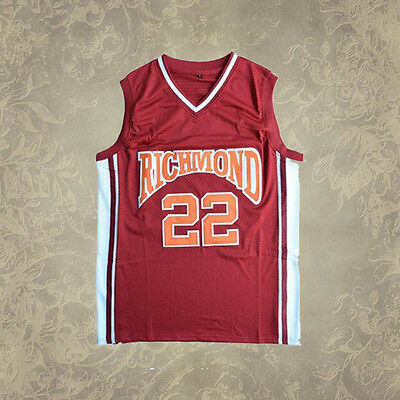 Richmond Oilers Basketball Jersey Richmond Home Red #22 Timo Cruz
