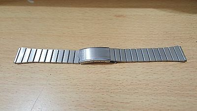 Seiko 22Mm Stainless Steel Gents Watch Strap,1980's, Zs-4,