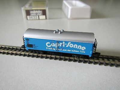 "Marklin mini-club 8633 Refrigerator Car ""Capri-Sonne"" Boxed 1:220 Z Scale"