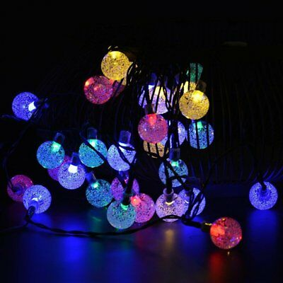 Solar String Lights 20 30 LEDs Outdoor Garden Dream Party Wedding Fairy Lamps
