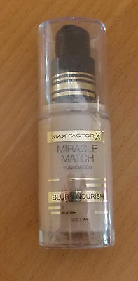 Max Factor Miracle Touch Make up, Fb. 55, Beige, NEU!!