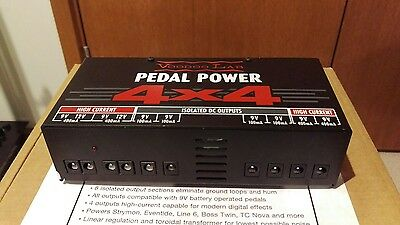 Voodoo Labs 4x4 Guitar Pedal Power Supply