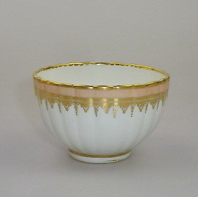 Early Derby Ribbed Tea Bowl