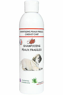 Shampooing Chiens peaux fragiles - 250 ml