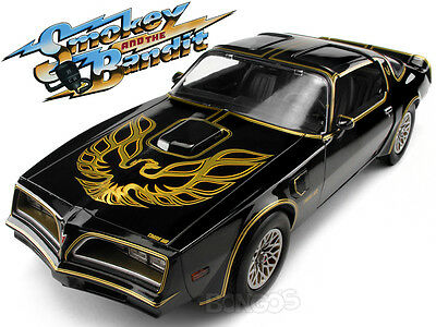 """Smokey & Bandit "" 1977 Pontiac T/A Trans-Am Firebird 1:18 Scale Model Car"