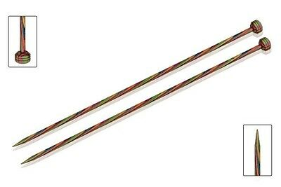 KnitPro Symfonie Wood Single Point Knitting Needles Pair (Dif Sizes) Knit Pro