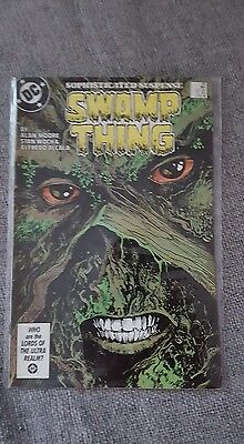 Saga of Swamp thing #49 1st appearance of justice league Dark