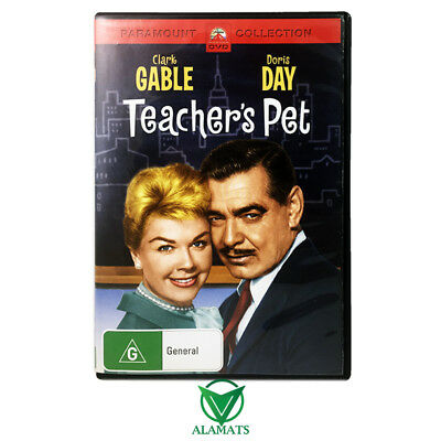 Teacher's Pet (DVD) Doris Day - Clark Gable - Comedy - Romance - Rare - Reg 4