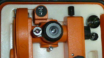 NEW 1PC GEO FENNEL FET-500 Builders Optical Theodolite + Carry case