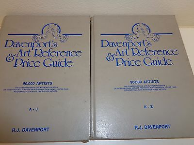 Davenport's Art Reference & Price Guide 1991 Two Volumes