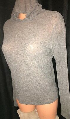 The Limited~Sweater Ballerina Ballet Cover Dancewear Wrap Hoodie Top M