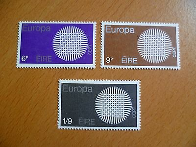 Ireland Stamps : 1970 Europa MNH