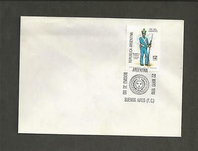 ARGENTINA -1976 Army Day - FIRST DAY COVER.