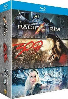 Pacific rim + Sucker punch + 300 COFFRET BLU-RAY NEUF SOUS BLISTER