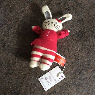 Blade And Rose Roxie Rabbit Rattle New Baby Girl Toy Gift BNWT FREE POSTAGE