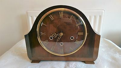 Smiths Vintage Westminster Chime Mantel Clock