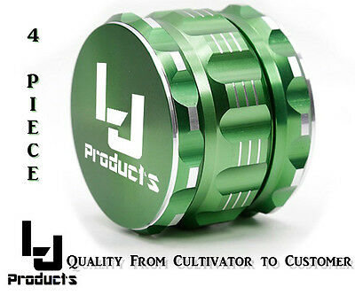4 Piece Herb Grinder 2.5 Inch - Tobacco - Spice - USA Seller Crusher