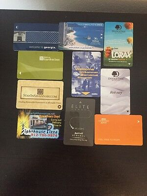 Nice Selection Of 10  Different Hotel Room Keys