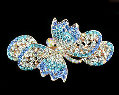 jewelry clip flower crystal comb hairpin extension hair barrette clamp