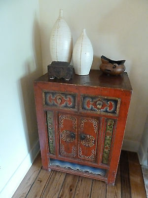 Antique, hand-carved Chinese cabinet