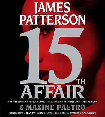 15th Affair by James Patterson and Maxine Paetro Unabridged 6 CDS New