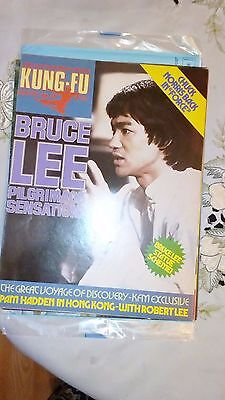 Kung Fu Monthly Poster Magazine no 53- Excellent condition!! Bruce Lee KFM