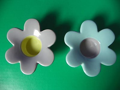 Partylite Tealight Candle Holders Set of 2 Flower