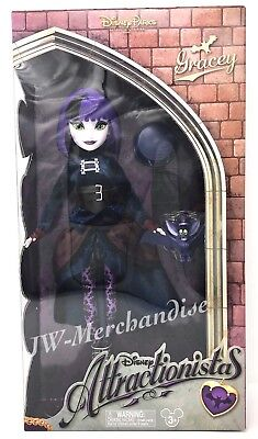 Disney Parks Attractionistas Doll Haunted Mansion Gracey & Bat - NEW